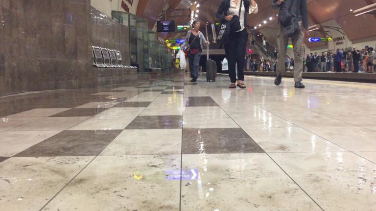 Мъж почина на перона на метростанция Сердика