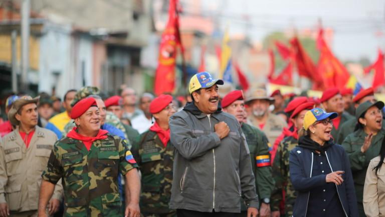 Мадуро отсече: Никой агресор няма да влезе във Венецуела, военните заплахи на Тръмп са лудост