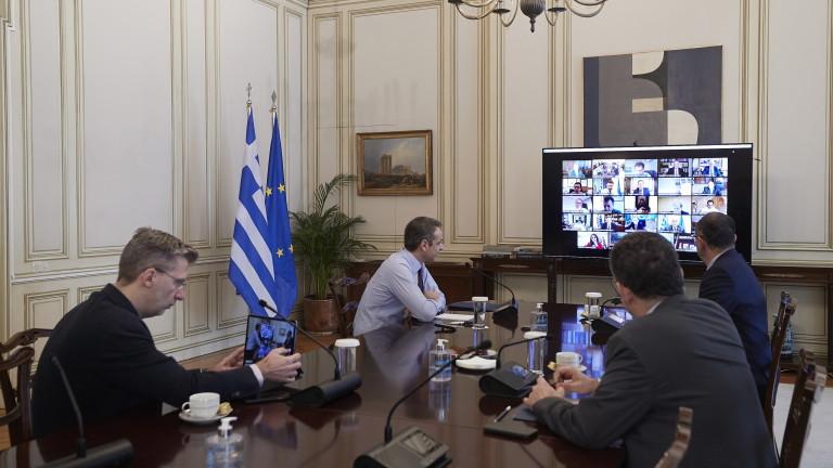 Премиерът на Гърция Кириакос Мицотакис предложи европейскитедържави заедно да се