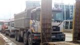 """Багери, камиони и валяци паркираха на """"Цариградско шосе"""""""