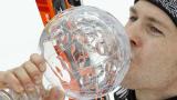 Хербст спечели малкия кристален глобус в спускането