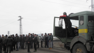 Край на стачката в мина Оборище