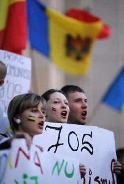 Протестиращи в Кишинев заплашиха да нападнат министерския съвет