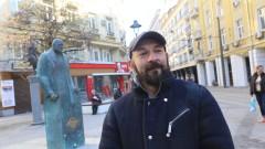 Авторът на паметника на Борисов искал да въведе естетика, свързана с тоталитарност