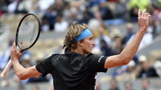 Зверев елиминира Фонини от Откритото първенство на Франция по тенис