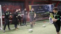 Благой Георгиев и отборът му спечелиха турнир по минифутбол
