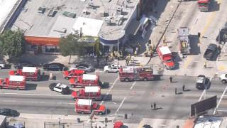 Осем ранени при инцидент с ван в Лос Анджелис