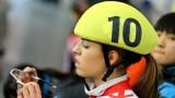Катрин Маноилова спечели титлата на 1000 метра на Държавното първенство в Зимния дворец