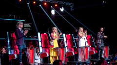 """Четирима отпаднаха в първия концерт на живо в """"Гласът на България"""""""