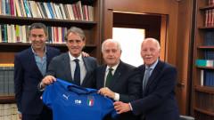 Роберто Манчини е новият селекционер на Италия