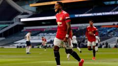 """Манчестър Юнайтед се справи с Тотнъм, силно второ полувреме донесе успеха на """"червените дяволи"""""""