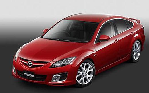 Появиха се снимки на Mazda Atenza