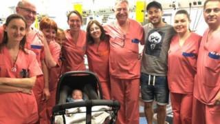 Прекрасна новина! Давид Силва и новороденият му син най-накрая се прибират вкъщи