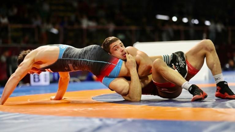 Георги Вангелов на 1/4-финал в Рим