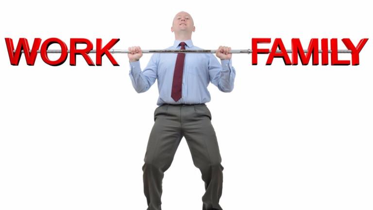 Постигането на равновесие между работното и личното време понякога е огромна тежест