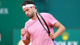 Григор Димитров играл със сериозни болки срещу Надал