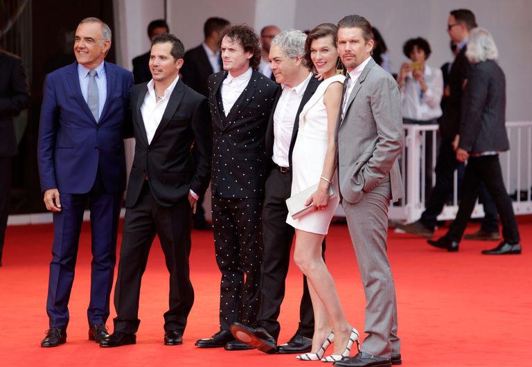 """На премиерата на филма """"Цимбелин"""""""