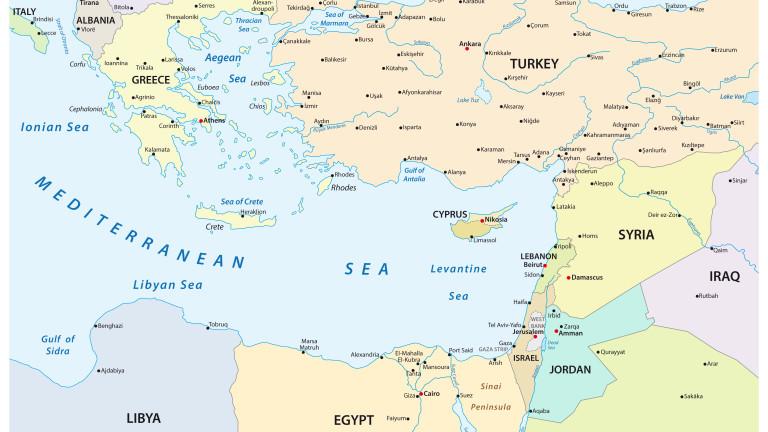 Израел, Гърция и Кипър проведоха съвместни военноморски учения