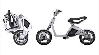 Сгъваемият Cuter Scooter - на това му се вика компактен транспорт!