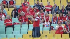 Нападнали фенове на Норвегия в центъра на София