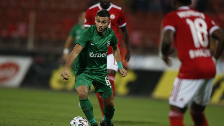 Доминик Янков стана Футболист на годината в Лудогорец