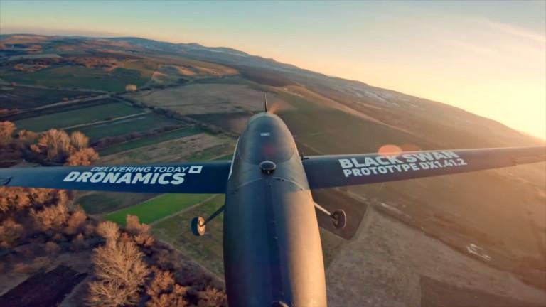 Български стартъп създаде първата в света международна мрежа за доставки с дронове
