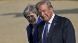 Тръмп казал на Тереза Мей да съди Европейския съюз