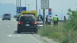 Полицай на мотор пострада при катастрофа до Благоевград