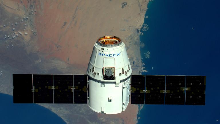 През май тази година Илон Мъск изпрати в орбита първите