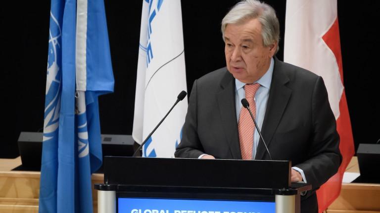 ООН призова света да разпределя справедливо бежанци