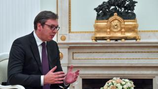 Вучич и Меркел ще се видят в Париж