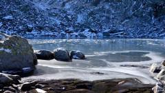 Седемте рилски езера замръзнаха