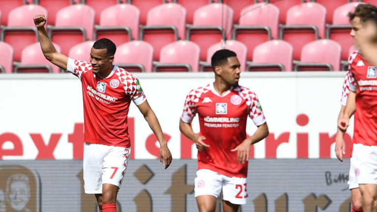 Майнц спечели голов трилър с Волфсбург