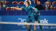 """Александър Донски и Александър Лазаров с """"уайлд кард"""" за турнира на двойки на Sofia Open"""
