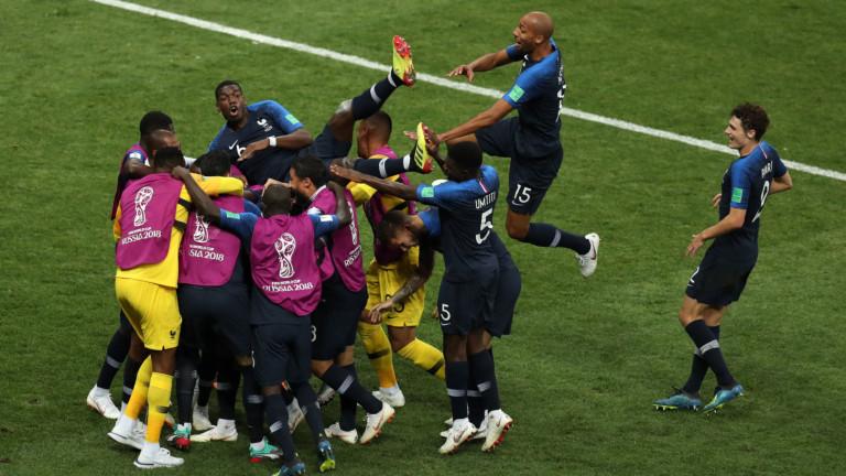 Вчера, 15 юни, Франция стана световен шампион за първи път