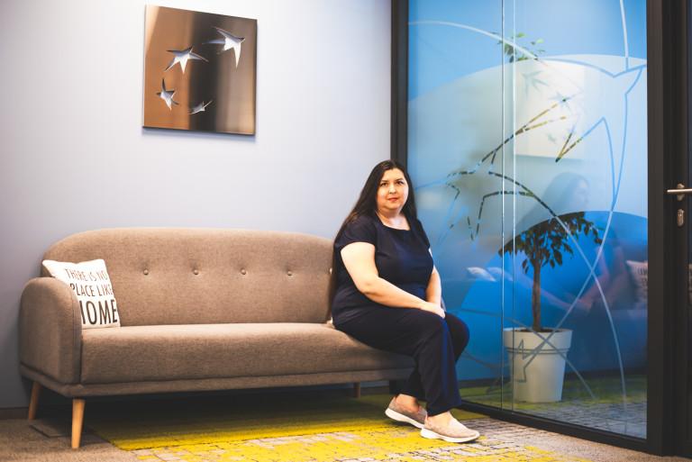 Людмила Петрова: Любимото ми място в офиса е този кът в близост до рецепцията