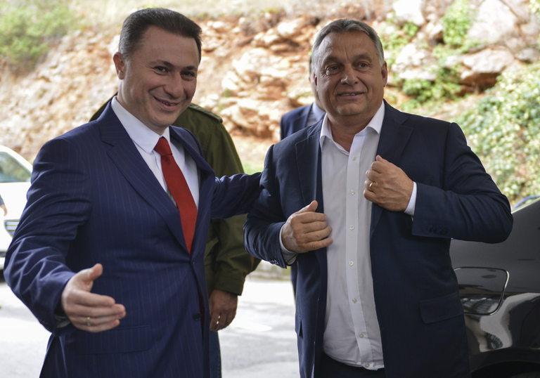 Виктор Орбан спаси от затвора близкия си съюзник Никола Груевски