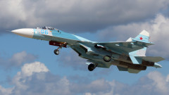 Русия вдигна Су-27 срещу шпионски самолет на САЩ над Черно море