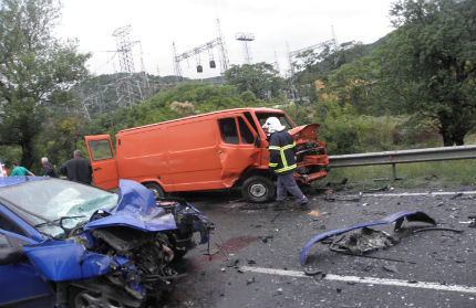 Трима пострадаха в катастрофа край Благоевград