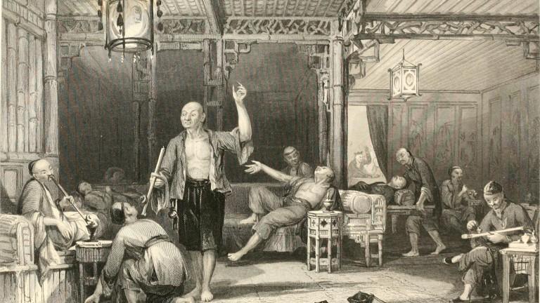 Резултат с изображение за Първата опиумна война.