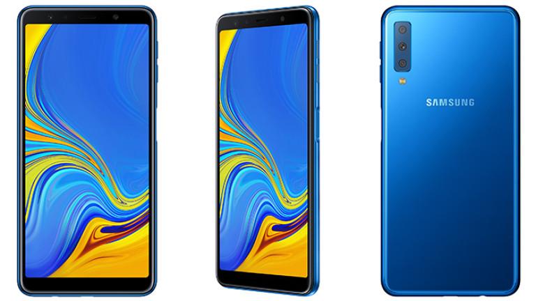 Снимка: Запознайте се с Galaxy A7 - първият модел на Samsung с тройна камера