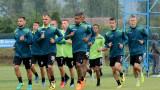 """Шестима юноши от школата на Черно море тренират с представителния тим на """"моряците"""""""