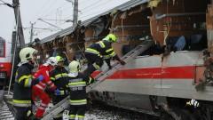Загинал и десетки ранени след катастрофа на два влака в Австрия