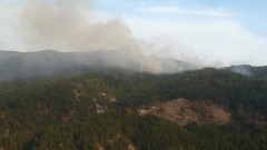 Големият пожар в Свиленградско е овладян, през  нощта остават дежурни екипи