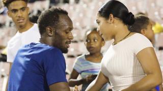 Юсейн Болт ходи с кралица на карнавал в Ямайка