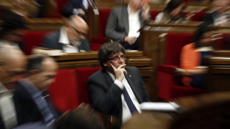 Сепаратистите в Каталуния внесоха резолюция за обявяване на независимост