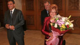 Председателят на агенцията по туризма връчва награда в Европарламента