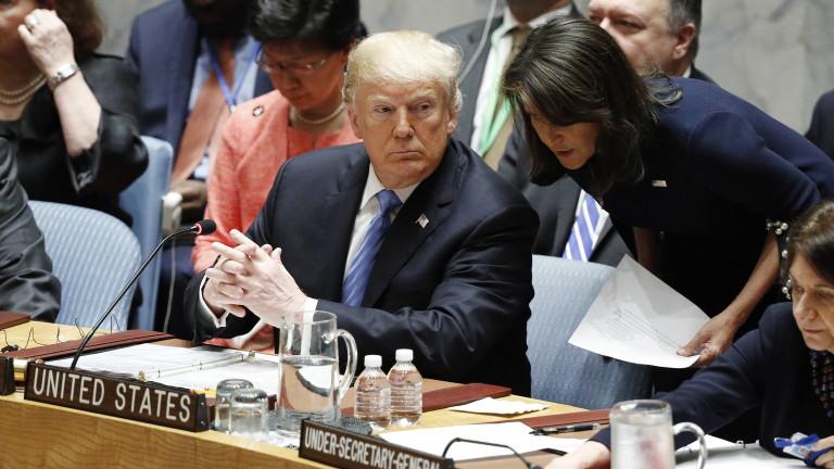 Президентът на САЩ Доналд Тръмп обвини Китай, че се опитва
