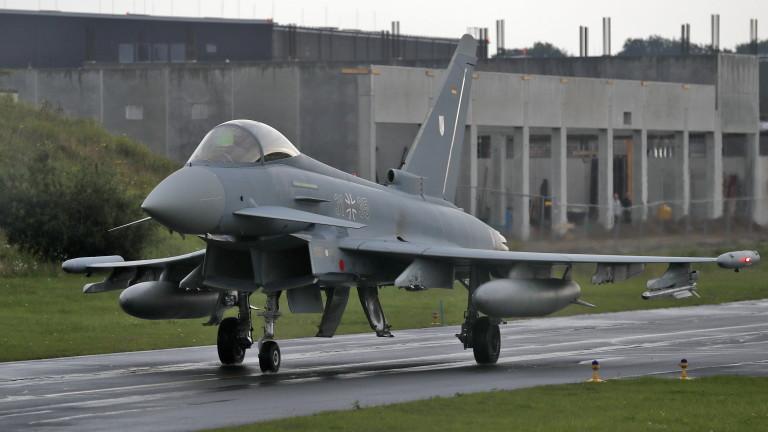 Германия се въоръжава с близо 140 изтребителя Eurofighter и F-18