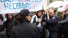 Полицията спестила боя на студентите, доволен Цветанов